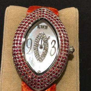 EFFY Sapphire Crystal Luxury Brand Watch